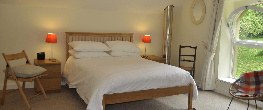 Galleried double bedroom